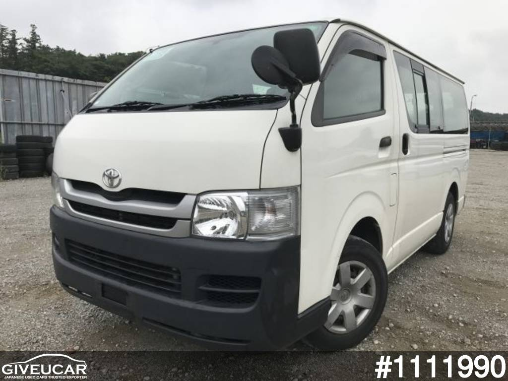 Used toyota hiace van from japanese auction 1111990 8013df92 giveucar