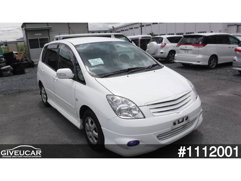 Used toyota corolla spacio from japanese auction 1112001 12be2fbf giveucar