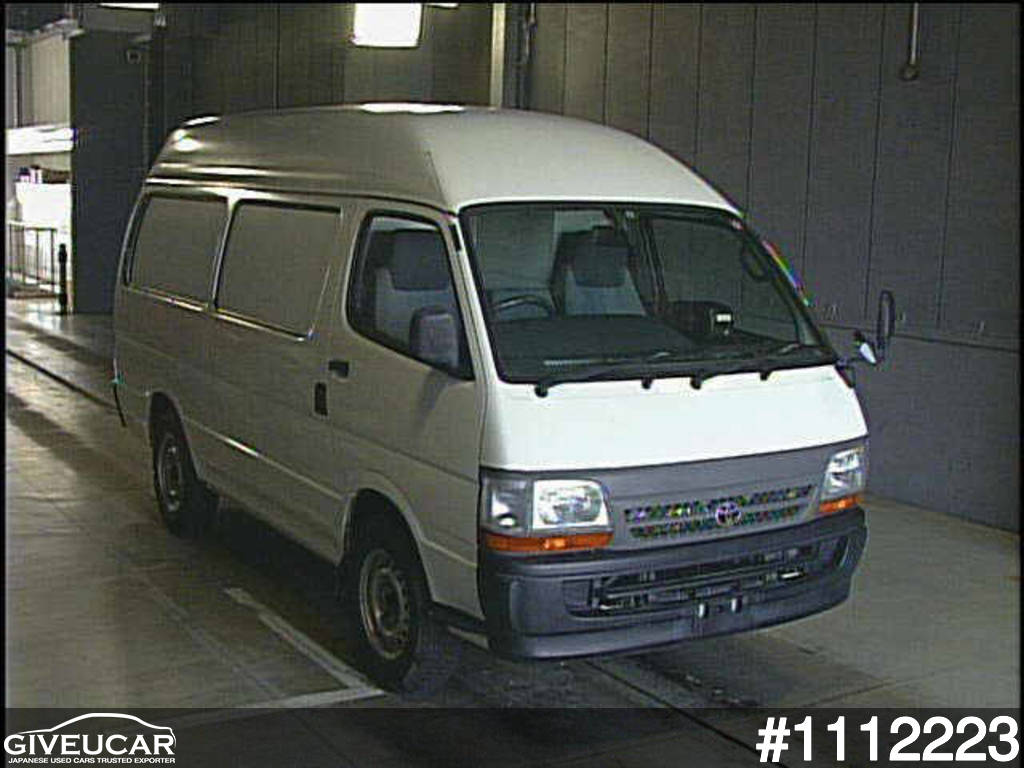 Used toyota hiace van from japanese auction 1112223 dc148f34 giveucar