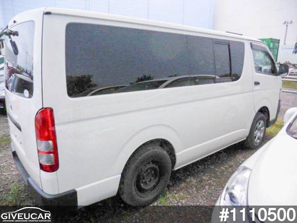 Used toyota hiace van from japanese auction 1110500 8b7600ab giveucar