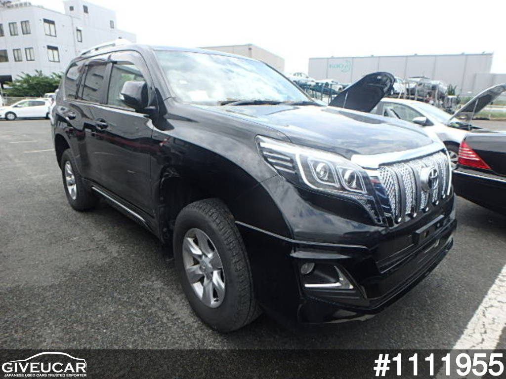 Used toyota land cruiser prado from japanese auction 1111955 4ace9a2c giveucar