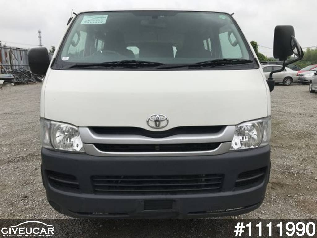 Used toyota hiace van from japanese auction 1111990 22d4872b giveucar