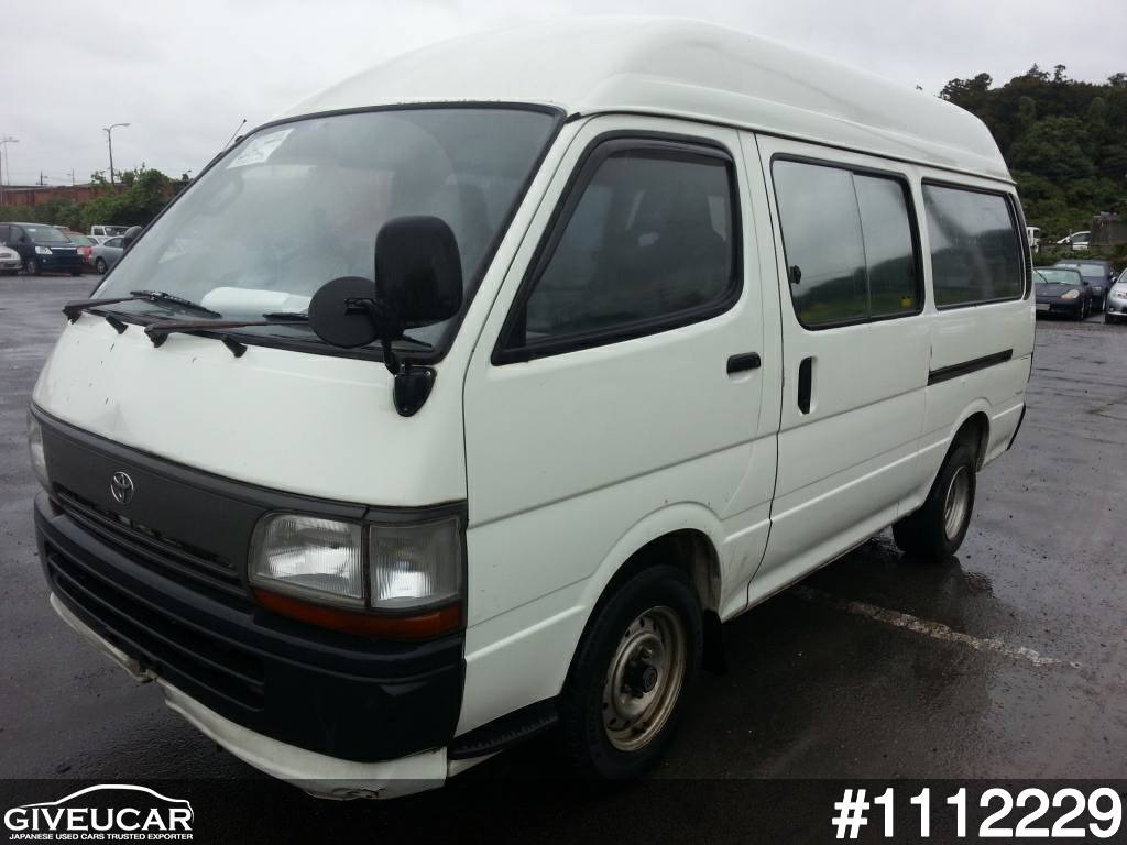 Used toyota hiace van from japanese auction 1112229 e5fca0b3 giveucar