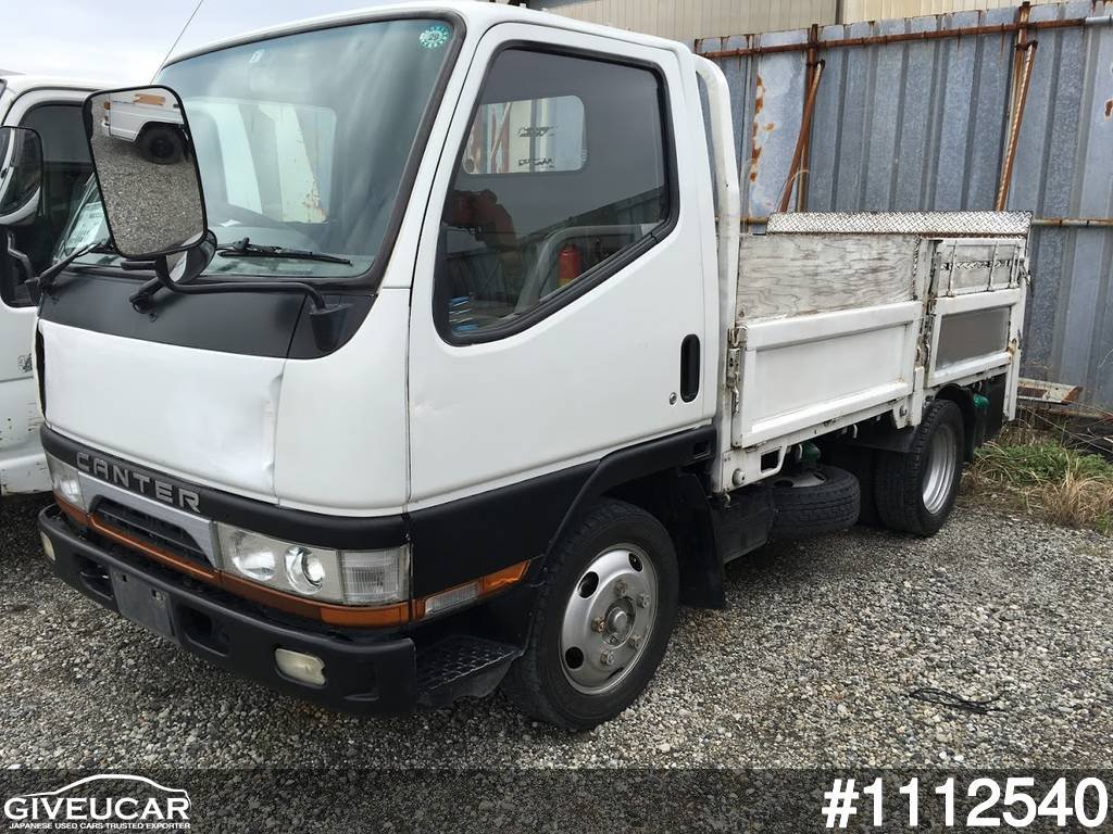 Used MITSUBISHI CANTER from Japan car exporter - 1112540